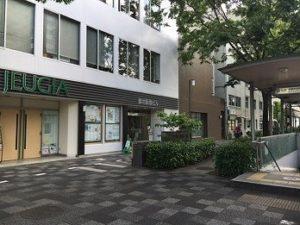 JEUGIAミュージックスセンター御池の入口の画像